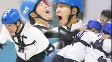 팀추월 도전 이상윤·이승기·양세형·육성재 '올림픽처럼'