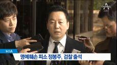 검찰, '성추행 의혹' 정봉주 전 의원 소환