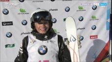 [프리스타일 스키] 여자 모굴 2차시기 - 훌륭한 점프를 뽐낸 지아키오 FIS 국제스키대회 10회