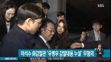 이석수 전 감찰관 '우병우 감찰내용 언론 누설' 무혐의