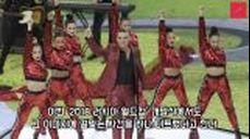 러시아 월드컵 개막식 생중계 중 손가락 욕 날린 로비 윌리엄스