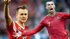 '득점 공동 선두' 러시아 체리세프 VS 포르투갈 호날두 SBS 2018 FIFA 러시아 월드컵 59회