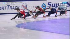 [쇼트트랙 월드컵 2차] 남자 1500m 결승 신다운, 이정수, 홍경환 ISU 국제빙상대회 18회