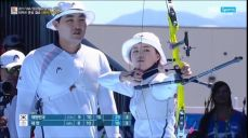 [현대 월드컵] 리커브 혼성, 김동현-장혜진 금메달 SBS스포츠 양궁 11회
